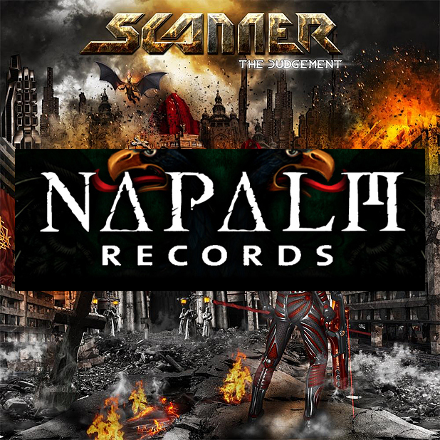 SCANNER Power Metal Band - THE JUDGEMENT - Album 2015