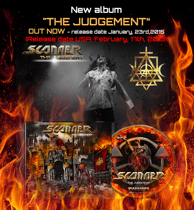 Cover Image The Judgement SCANNER Album 2015