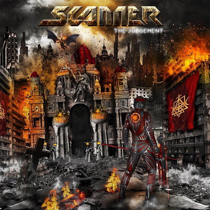 Cover Image The Judgement SCANNER Album 2014